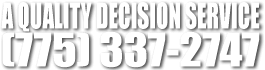 A Quality Decision Phone Logo
